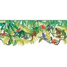 White/Bright Multicolor Children Wallcovering by York