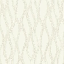 Cream/Silver/Gold Geometrics Wallcovering by York