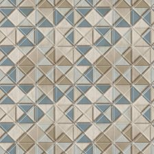 Cream/Beige/Khaki Geometrics Wallcovering by York