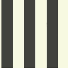 Cream/Black Stripes Wallcovering by York