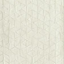Silver Beige Geometrics Wallcovering by York