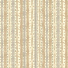 Tan/Grey/White Stripes Wallcovering by York