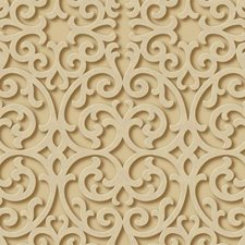 Gold/Beige/Brown Traditional Wallcovering by York