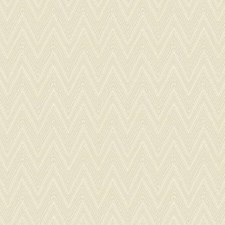 Cream/Grey/Beige Chevron Wallcovering by York