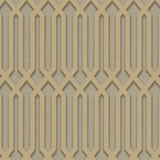 Taupe/Tan/Grey Geometrics Wallcovering by York