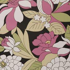 Fuchsia Abstract Wallcovering by Clarke & Clarke