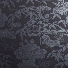 Black Wallcovering by Clarke & Clarke