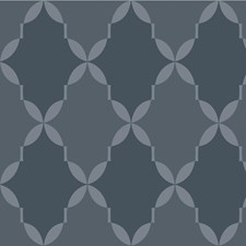 Blue/Dark Blue/Slate Modern Wallcovering by Kravet Wallpaper