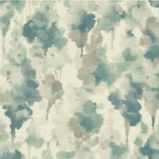 Blue/Light Blue/Light Grey Modern Wallcovering by Kravet Wallpaper