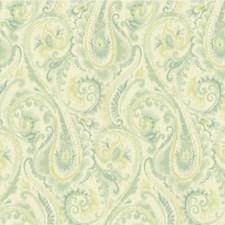 Teal/Sage/Celery Modern Wallcovering by Kravet Wallpaper