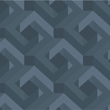 Blue/Light Blue/Slate Modern Wallcovering by Kravet Wallpaper