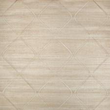Gold/Metallic/Ivory Grasscloth Wallcovering by Kravet Wallpaper