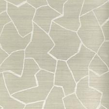 Grey/White Modern Wallcovering by Kravet Wallpaper