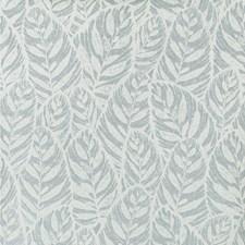 Blue/Spa Botanical Wallcovering by Kravet Wallpaper