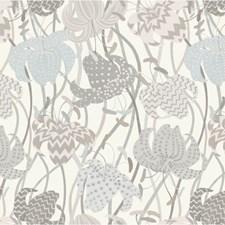 Grey/Beige/Multi Botanical Wallcovering by Kravet Wallpaper