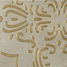 Etruscan Gold Medallion Wallcovering by Winfield Thybony