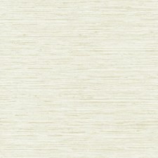 Creamy Pearl/Beige Faux Grasscloth Wallcovering by York