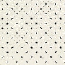 Black/Gold On White Wallcovering by Scalamandre Wallpaper