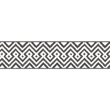 White/Black Geometrics Wallcovering by York