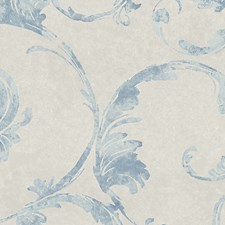Light Blue Wallcovering by Scalamandre Wallpaper