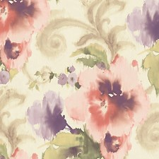 Light Pink/White Wallcovering by Scalamandre Wallpaper