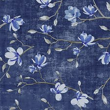 Delft Blue Wallcovering by Scalamandre Wallpaper