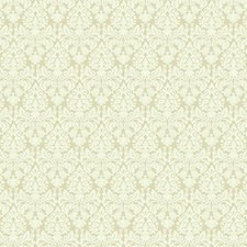 Ecru/Cream Damask Wallcovering by York