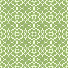 Green/White Geometrics Wallcovering by York