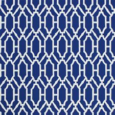 Indigo Hand Print Wallcovering by Scalamandre Wallpaper