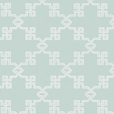 Aquamarine Screen Print Wallcovering by Scalamandre Wallpaper