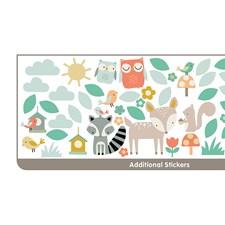 WT44647 Woodland Tree & Friends Wall Art Kit by Brewster