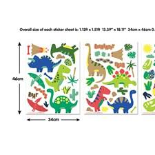 WT45026 Dinosaur Wall Art Kit by Brewster