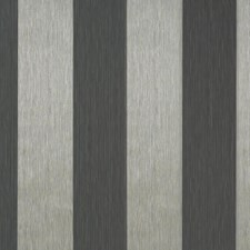Charcoal Grey/Silver Stripes Wallcovering by York