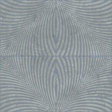 Silvery Grey/Medium Blue Contemporary Wallcovering by York